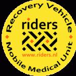 reserve achterwiel reclame voor Riders