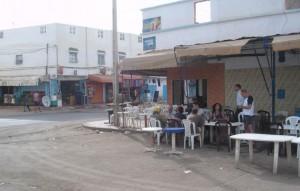 lokaal terras in Tan-Tan