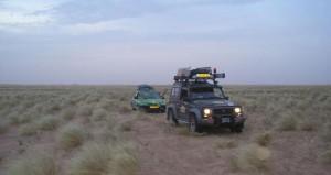 1208 en 1201 achter elkaar door de Sahara