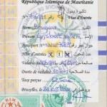 visum mauritanie